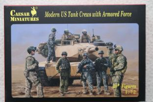 Caesar Miniatures 1/72 CMH103 US Tank Crews with Armoured  Force (Modern)